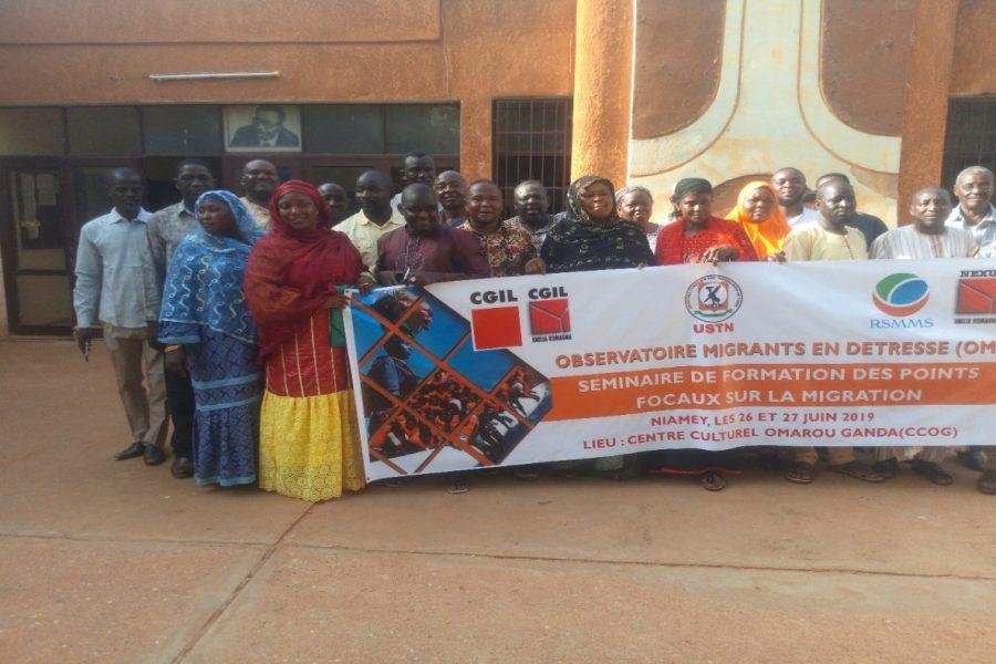 """Niger: Formazione dei punti focali sulla migrazione, """"I diritti umani non hanno confini"""""""