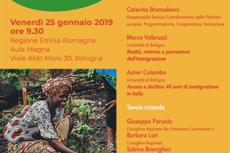 Co-sviluppo: migrazioni e cooperazione internazionale. Strategie e buone pratiche in ER, Bologna 25/01