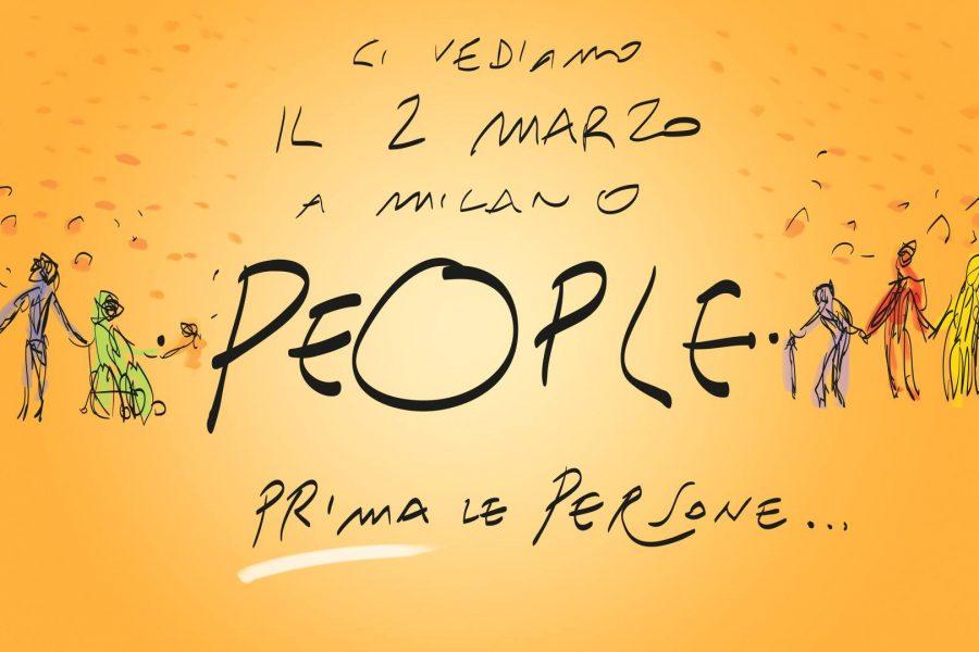 L'APPELLO DI #PEOPLE – PRIMA LE PERSONE, 2 marzo Milano