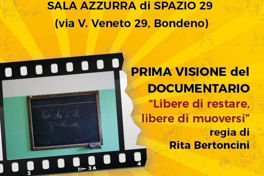 """Festival Diritti Ferrara: Udi Bondeno """"Libere di restare, libere di muoversi"""", 18/12 Bondeno"""