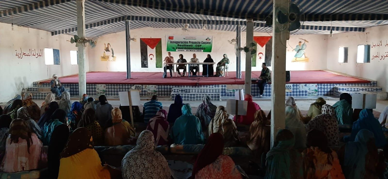Sahrawi: INAUGURAZIONE PROGETTO CUCINE RESILIENTI