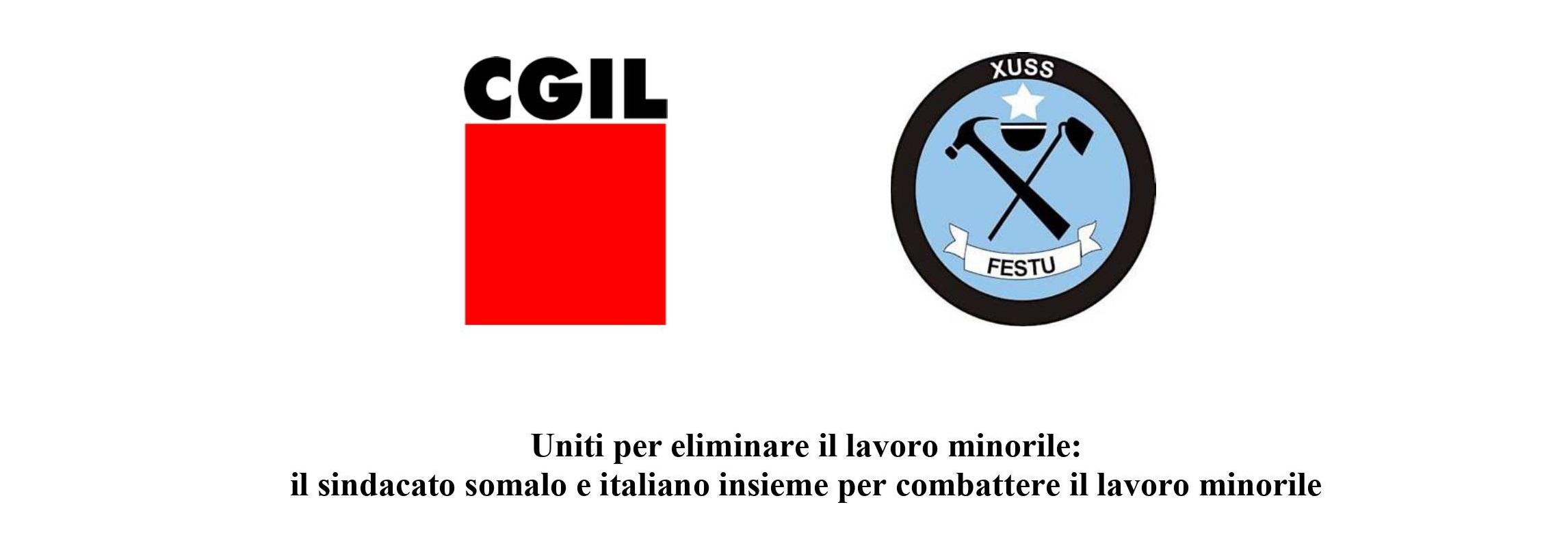 CGIL-FESTU: sindacato somalo e italiano insieme per combattere il lavoro minorile