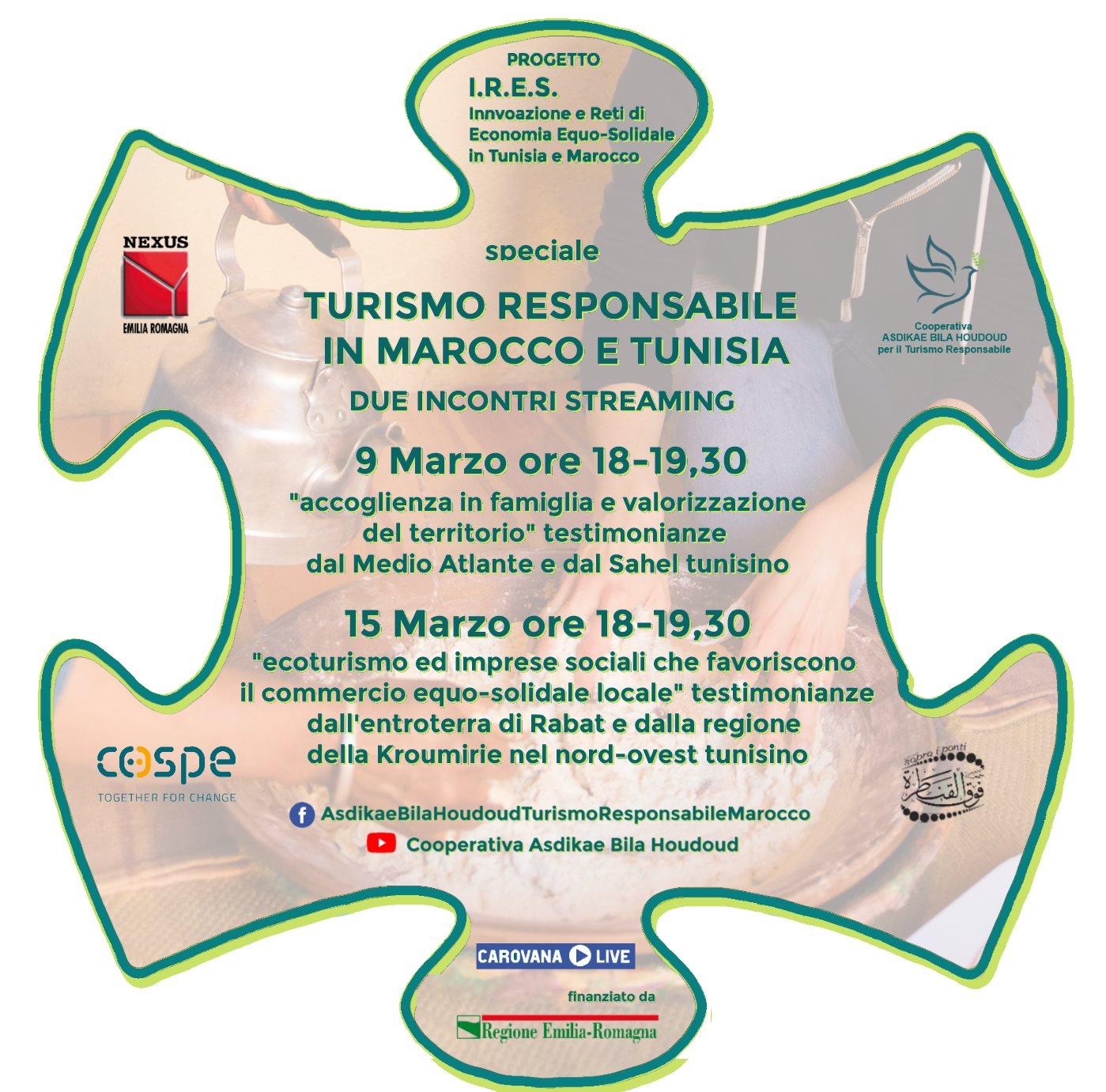 Progetto I.R.E.S. Turismo responsabile in Marocco e Tunisia
