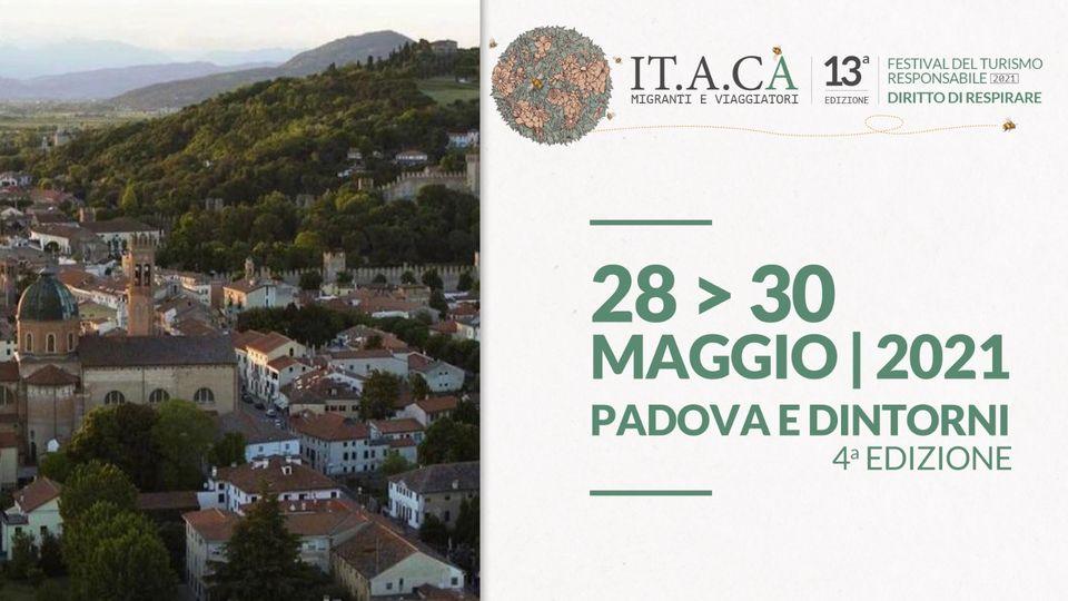 28-30/05 PADOVA e DINTORNI – 4a EDIZIONE FESTIVAL DEL TURISMO RESPONSABILE